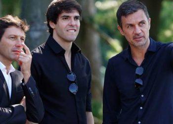 Ph AC Milan Official - Leonardo, Maldini e Kakà