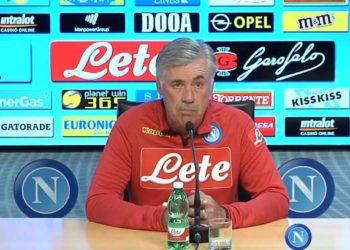 Carlo Ancelotti, ph SSC Napoli
