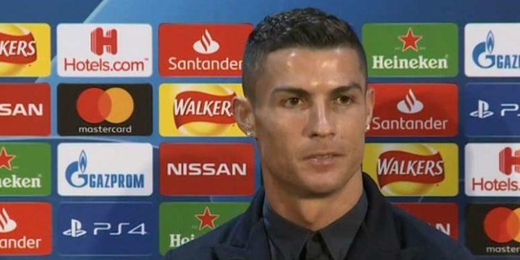 Cristiano Ronaldo pre Manchester