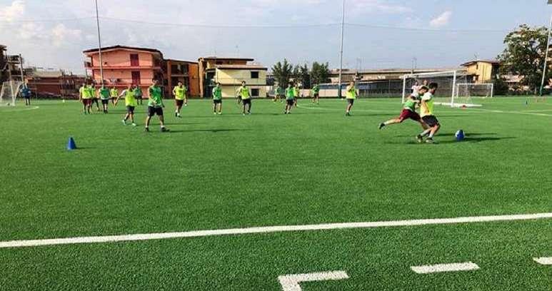 Ph Pomigliano, allenamento