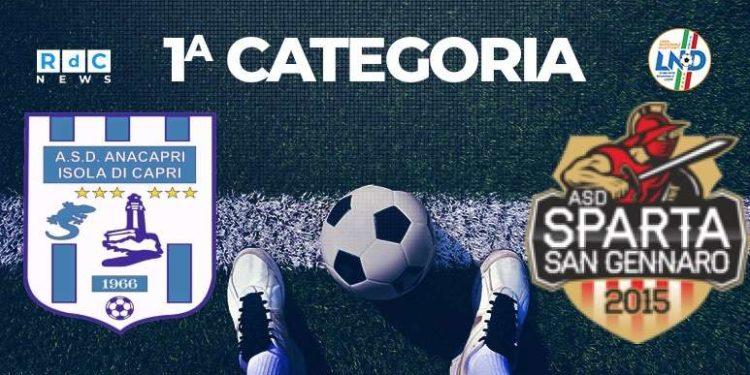Real Anacapri-Sparta San Gennaro 2-1