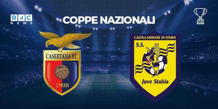 Casertana-Juve Stabia 0-2