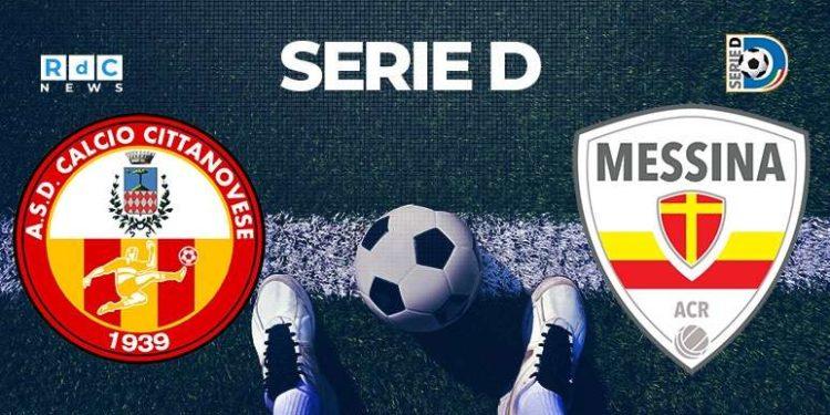 Cittanovese-Messina 2-2