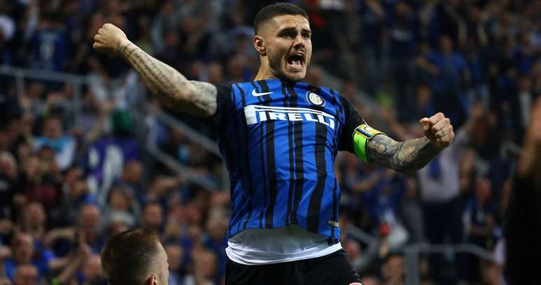 Icardi esultanza ph Inter F.C.