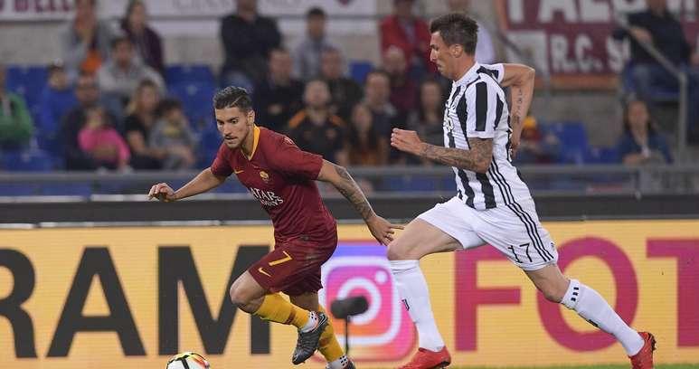 Mandzukic e Pellegrini ph A.S. Roma