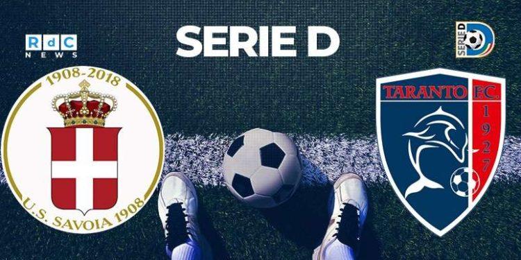 Savoia-Taranto 0-1
