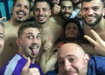 Simonetti saluta il Casoria ph Casoria Calcio