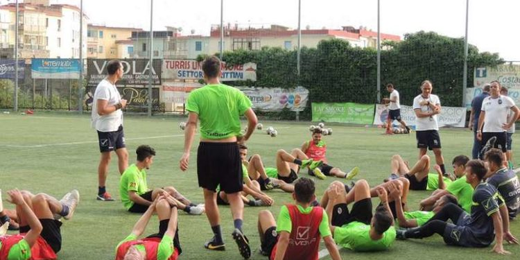 allenamento Turris ph Turris Calcio