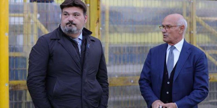 Giovanni Palma e Gianni Improta ph Antonio Gargiulo S.S. Juve Stabia