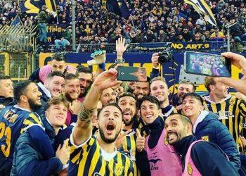 Juve Stabia selfie ph S.S. Juve Stabia