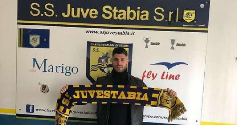 Giuseppe Torromino alla Juve Stabia ph Donato Di Campli