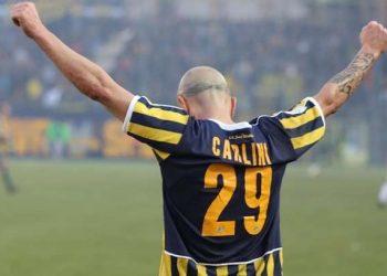 Esultanza Carlini ph Antonio Gargiulo SS Juve Stabia