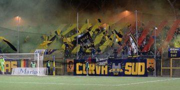 Supporter Juve Stabia ph Giuseppe Melone F.C. Casertana