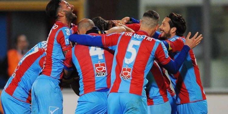 Esultanza Catania ph Calcio Catania