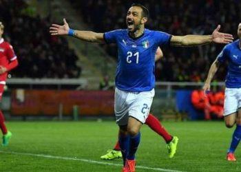 Fabio Quagliarella Nazionale Italiana ph FIGC