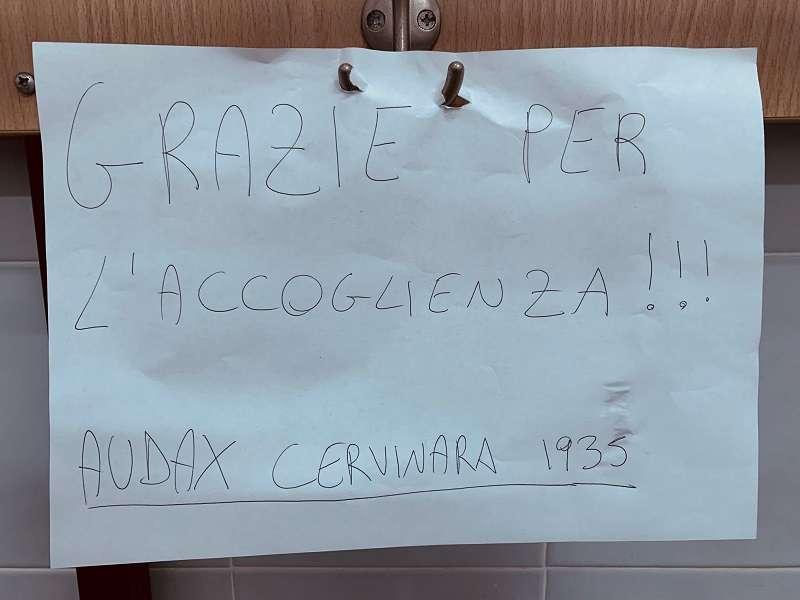 L'Audax Cervinara ringrazia il Casarano ph Casarano Calcio