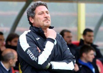 Bruno Trocini allenatore Virtus Francavilla ph Romana Monteverde U.S. Catanzaro