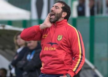 Fabio Caserta allenatore Juve Stabia ph Cristian Costantino
