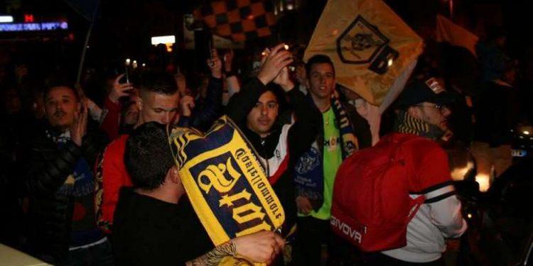 La Juve Stabia rientra dalla trasferta di Lentini ph Il Resto del Calcio