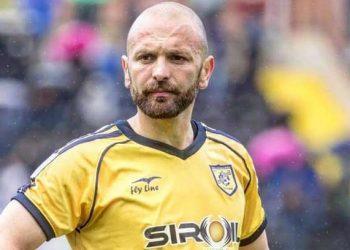 Massimiliano Carlini centrocampista Juve Stabia ph S.S. Juve Stabia