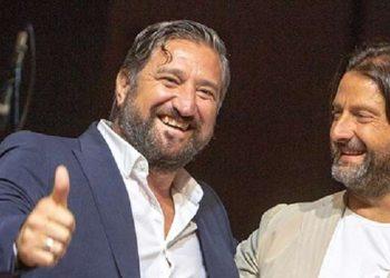 Vincenzo De Santis e Salvatore Caiata ph Michele Salvatore Potenza Calcio