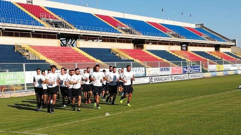 Allenamento Taranto ph F.C. Taranto 1927