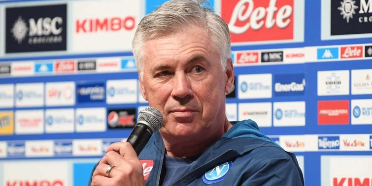 Carlo Ancelotti ph S.S.C. Napoli