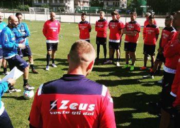 Casertana allenamento ph F.C. Casertana
