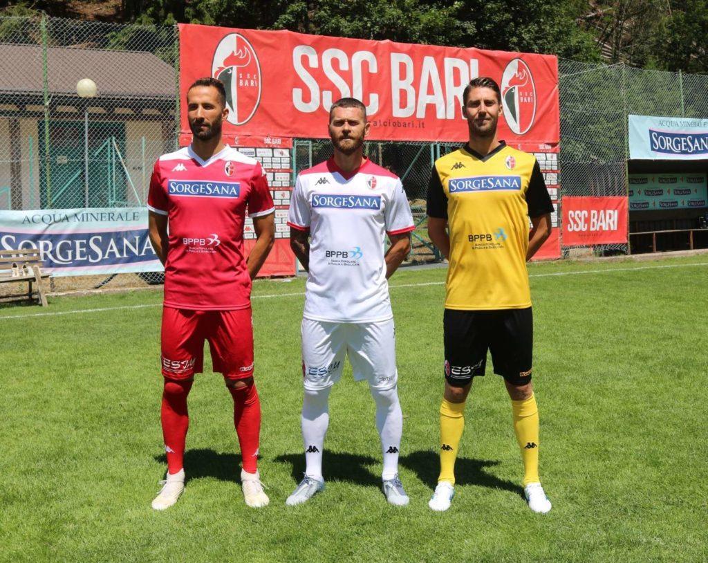 Divise Bari 2019-2020 ph S.S.C. Bari
