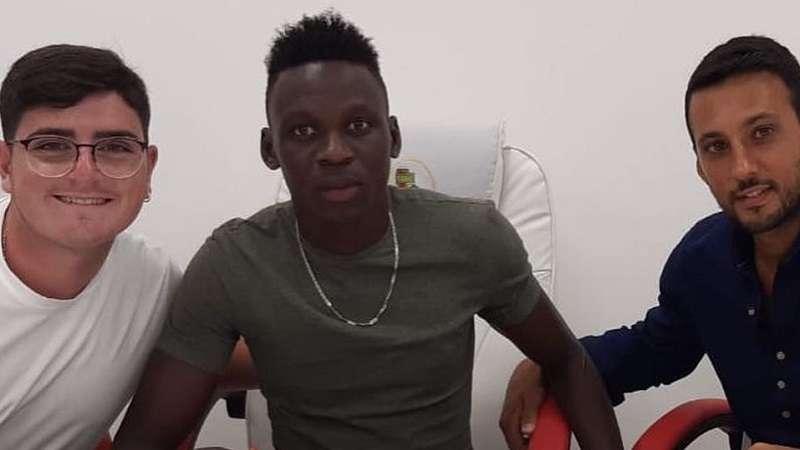 Mousa Sowe ph Turris Calcio