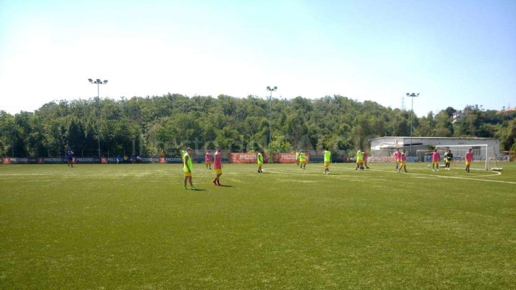 RdC Giugliano Calcio ritiro 2