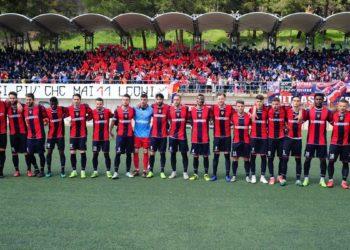 Squadra e tifosi ph AZ Picerno