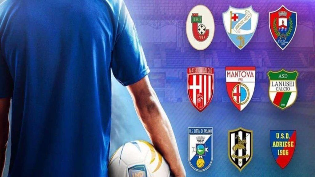 Tim Cup Serie D squadre
