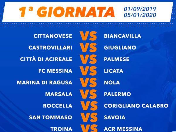 Calendario Serie C Girone B 2019 20.Serie D Girone I Ecco Il Calendario Completo Della Stagione