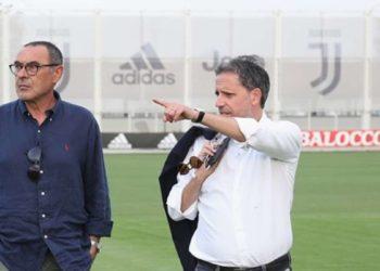 Ph Juventus, Sarri e Paratici