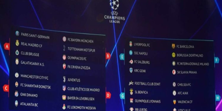 Ph Uefa, i gironi