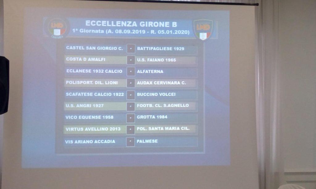 Calendario Eccellenza.Eccellenza Campania Ecco I Calendari Completi Dei Gironi A