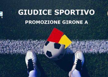 Giudice Sportivo Promozione girone A