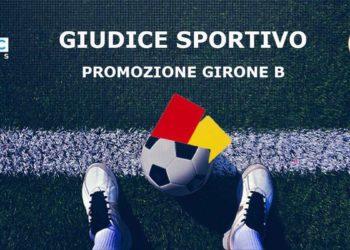 Giudice Sportivo Promozione girone B
