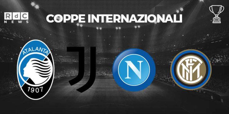Inter Napoli Calendario.Liste Champions Sorpresa Juve Mentre Inter Napoli E
