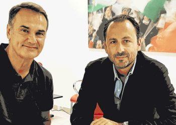 Vivarini e De Laurentiis ph S.S.C. Bari