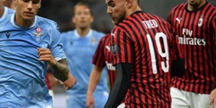 Ph Lazio, vs Milan