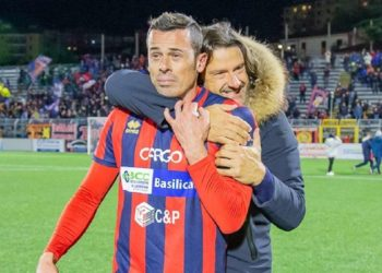 Carlos Franca e Salvatore Caiata ph Potenza Calcio