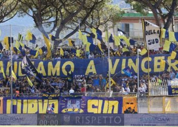 Curva Sud ph Antonio Gargiulo Juve Stabia