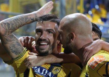 Esultanza Forte ph Antonio Gargiulo S.S. Juve Stabia