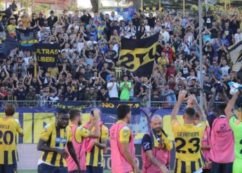 Juve Stabia e Curva Sud ph Antonio Gargiulo S.S. Juve Stabia