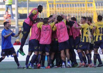 Juve Stabia esultanza ph Antonio Gargiulo S.S. Juve Stabia