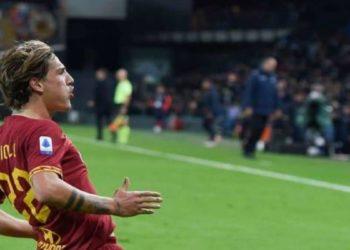 Ph AS Roma, Zaniolo gol