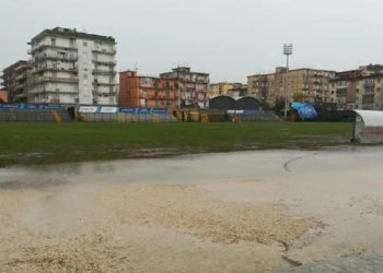 Stadio San Mauro diluvio ph Casoria Calcio