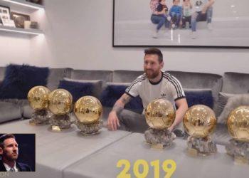 Leo Messi, Sei volte Pallone d'oro